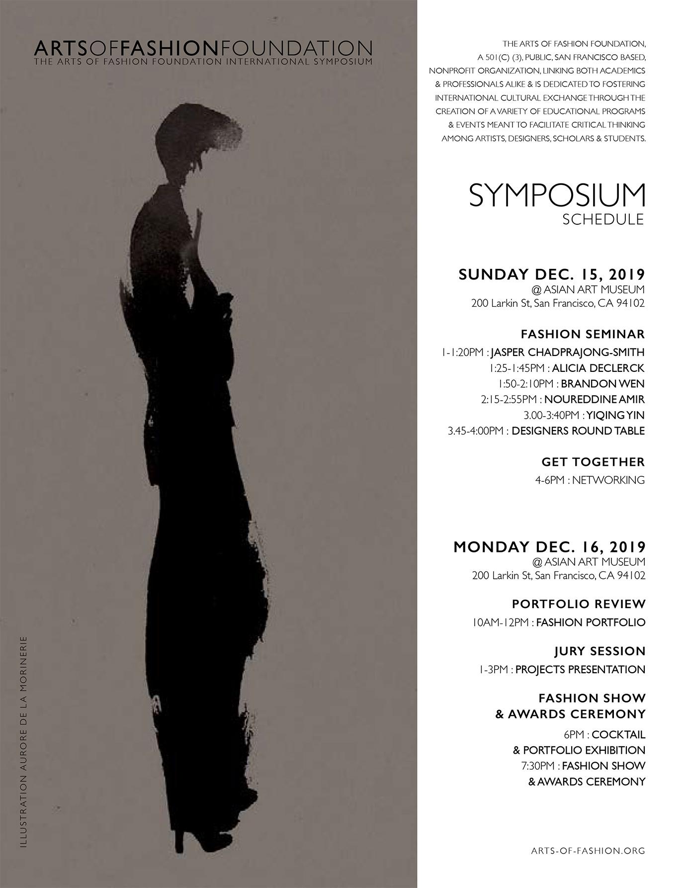 Arts Of Fashion Symposium 2019